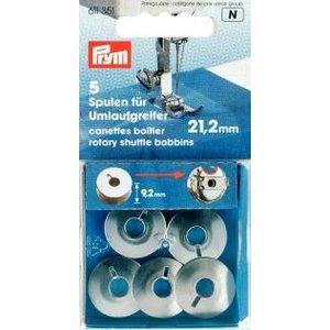 Symaskinsspole för symaskin för roterande skyttel 21.2 mm 5 st