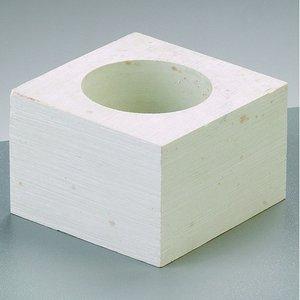 Täljsten kub 6 x 6 x 4 cm - Värmeljushållare