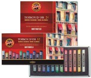 Toison D`or torrpastellkritor
