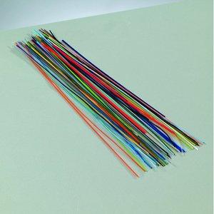 Tråd emalj l ~ 150-170 mm - blandade färger 10 g långa trådar