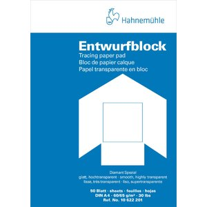 Tracingblock Hahnemühle Diamant 80/85g