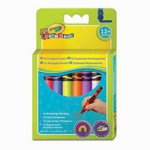 Triangelkritor Crayola Minikids - 16 kritor