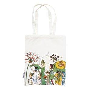Tygpåse Eko Bomull Blomsterparaden - 40 x 28 cm