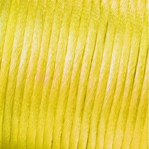 Vävtråd satin - gul