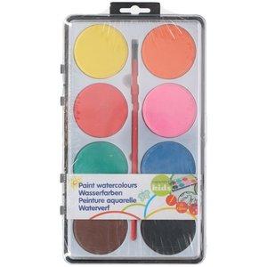 Vattenfärger - 8 färger