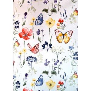 Vaxduk Fjärilar & blommor
