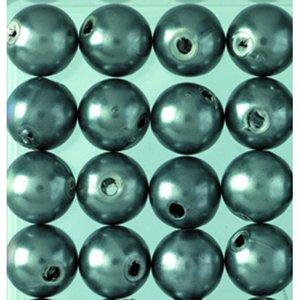 Vaxpärlor ø 8 mm - antracit 32-pack