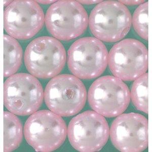 Vaxpärlor ø 8 mm - aprikos 32-pack