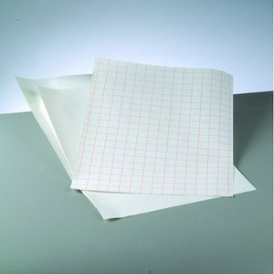 Whiteboardfolie 42 x 30 cm / ~ DIN A3 - vit självhäftande - 1 st ark
