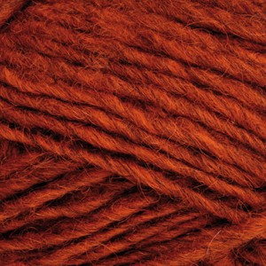 Ístex Álafoss Lopi Garn Unicolor 1236 Mörk Orange