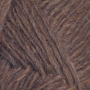 Ístex Léttlopi Garn Mix 0867 Mörkbrun