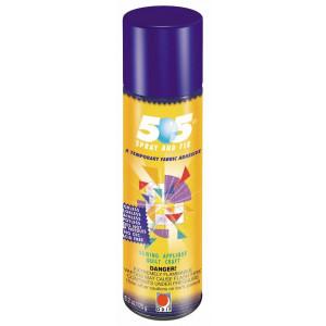 505 Temporär Spraylim / Limspray / Textillim 250ml till patchwork