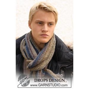 Adam by DROPS Design - Halsduk Stick-opskrift 150x22 cm