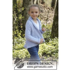 Alvina by DROPS Design - Cirkeljacka Stick-opskrift strl. 3/5 - 11/12