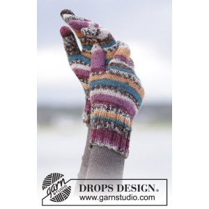 Autumn Stripes by DROPS Design - Vantar Stick-opskrift str. S/M - L/XL
