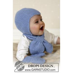 Baby Aviator Hat by DROPS Design - Hjälmmössa