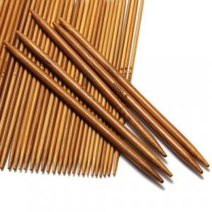 Bambu Strumpstickset 13 cm 2-5 mm 11 storlekar