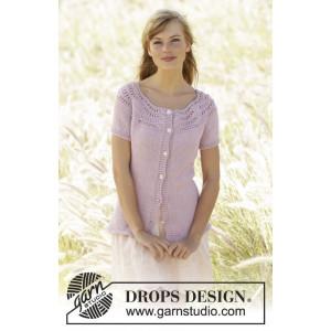 Becca Cardigan by DROPS Design - Jacka Stick-opskrift strl. S - XXXL