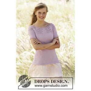 Becca by DROPS Design - Topp Stick-opskrift strl. S - XXXL