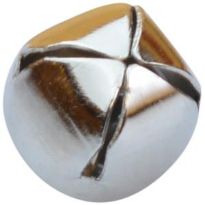 Bjällra / Skallerklocka 10 mm Silver - 1 st.