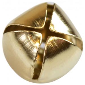 Bjällra / Skallerklocka 12 mm Guld - 1 st.