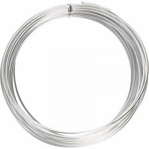 Bonzaitråd / Alu wire Silver 2mm 10m