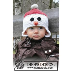 Carrot Nose by DROPS Design - Mössa Virk-opskrift strl. 6/9 mdr - 9/10
