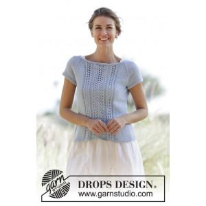 Charlotte by DROPS Design - Topp Stick-opskrift str. S - XXXL