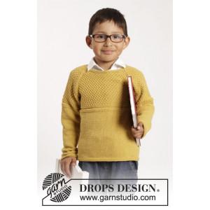 Clever Clark by DROPS Design - Tröja Stick-opskrift str. 12/18 mdr - 9