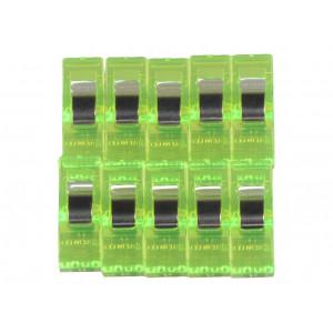 Clover Wonder Clips Grön 10 st.