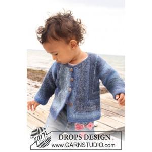 Corner Jacket by DROPS Design - Baby Jacka Stick-mönster strl. 1/3 mdr