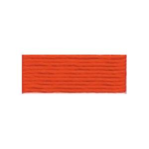 DMC Mouliné Spécial 25 Broderigarn 946 Mörk Orange