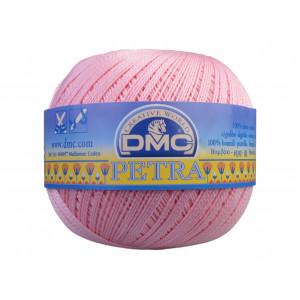 DMC Petra nr. 5 Virkgarn Unicolor 5151 Ljus Rosa