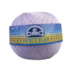 DMC Petra nr. 5 Virkgarn Unicolor 5211 Ljus Syren