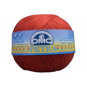 DMC Petra nr. 5 Virkgarn Unicolor 5355 Roströd