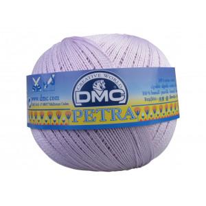 DMC Petra nr. 8 Virkgarn Unicolor 5211 Ljus Syren