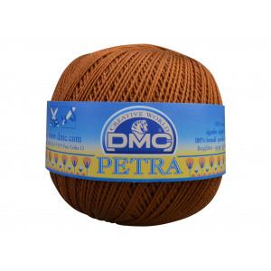 DMC Petra nr. 8 Virkgarn Unicolor 5434 Gyllenbrun
