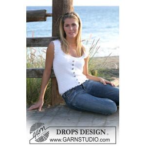 Dainty Miss by DROPS Design - Topp Virk-opskrift strl. S - XL