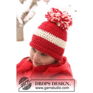 Denmark by DROPS Design - Mössa Virk-opskrift strl. 3/5 år - Voksen