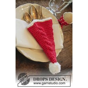 Dinner At The Kringles by DROPS Design - Bestickhållare Stick-opskrift