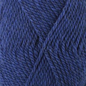 Drops Alaska Garn Unicolor 15 Kornblå
