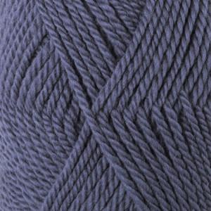 Drops Alaska Garn Unicolor 57 Jeansblå