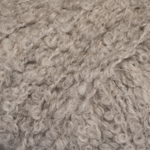 Drops Alpaca Bouclé Garn Mix 5110 Ljus grå