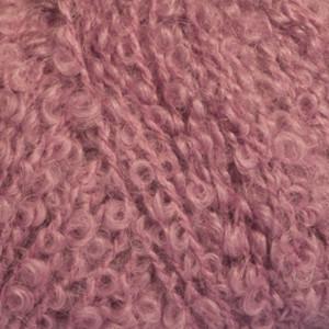 Drops Alpaca Bouclé Garn Unicolor 3250 Ljus Gammalrosa
