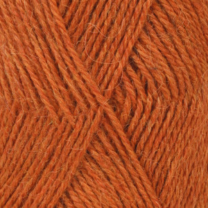 Drops Alpaca Garn Mix 2925 Orange melerad