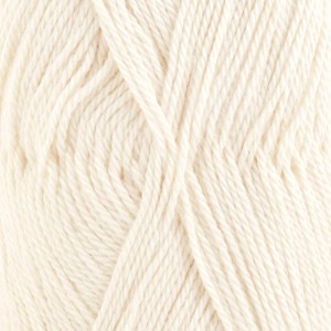 Drops BabyAlpaca Silk Garn Unicolor 0100 Natur