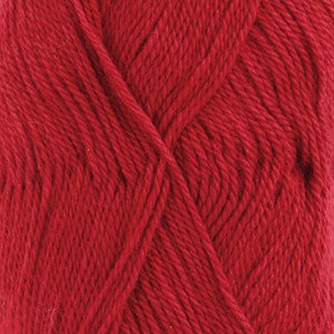 Drops BabyAlpaca Silk Garn Unicolor 3609 Röd