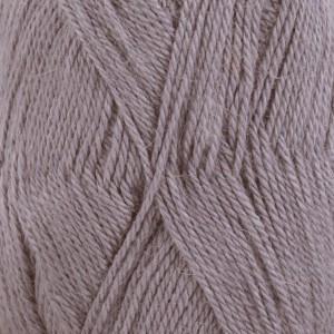 Drops BabyAlpaca Silk Garn Unicolor 4314 Grålila