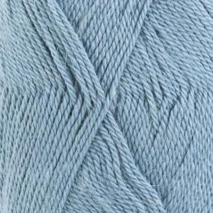 Drops BabyAlpaca Silk Garn Unicolor 6235 Gråblå