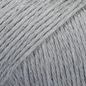 Drops Bomull-Lin Garn Unicolor 20 Gråblå
